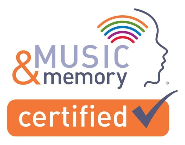 The Ambassador is Music & Memory Certified